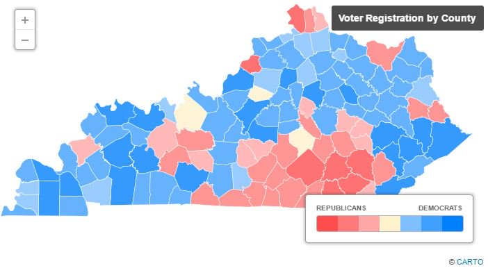 Bluegrass Politics on Twitter INTERACTIVE MAP See how many