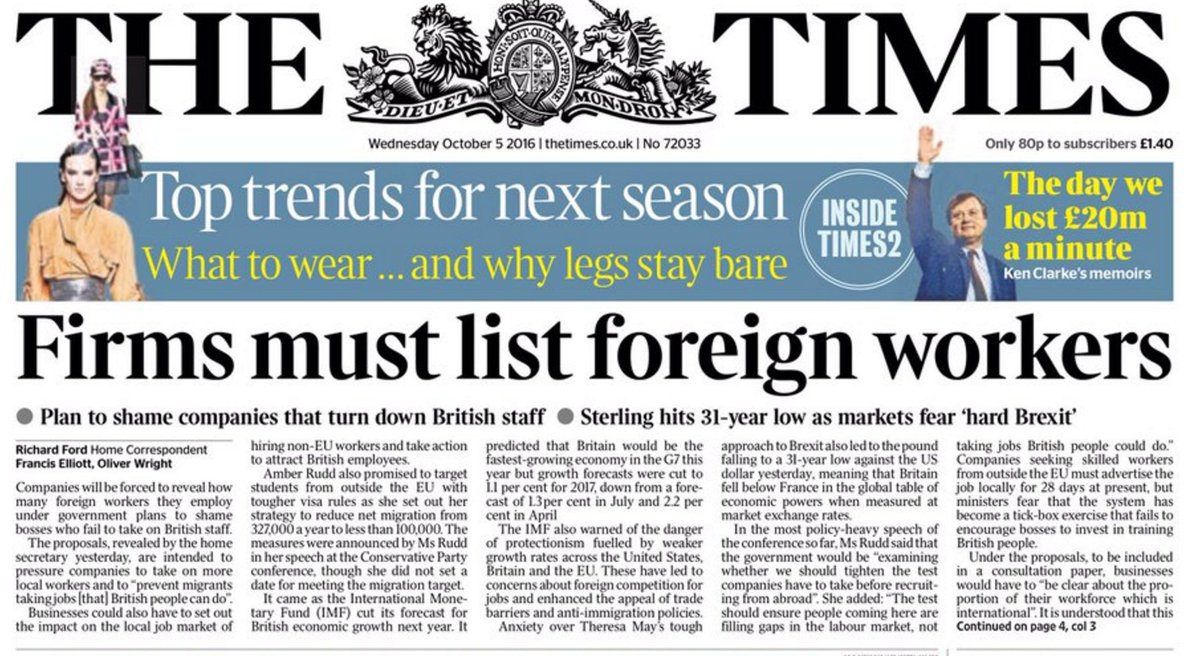 """If only there was some simple way of identifying """"foreign workers"""". https://t.co/fLlyWUGfL6"""