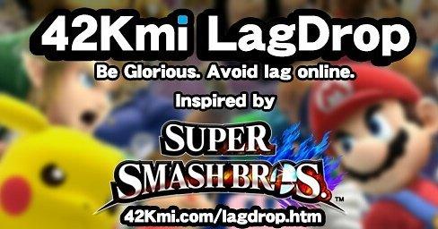 Download the latest LagDrop! #gaming #NintendoSwitch #Xbox #PS4 #esports #FGC #DdWrt #OpenWRT #SmashBros #スマブラhttp://42Kmi.com/lagdrop.htm