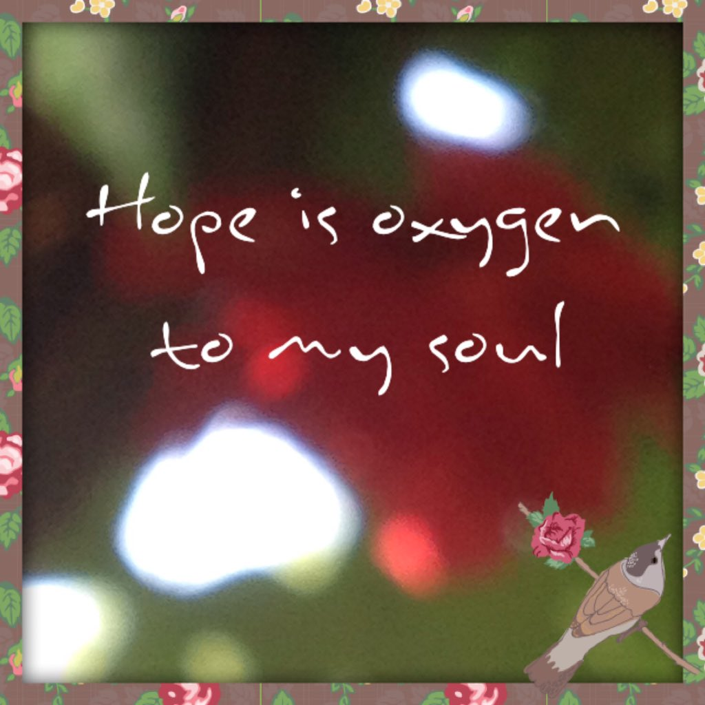 Image result for Hope is Oxygen for the soul""
