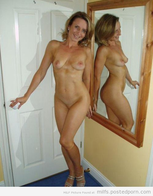 Milf in the mirror
