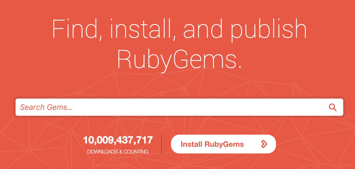 10,000,000,000 downloads 123,000 gems 105,000 users 7 years 250 contributors 1 thank you isn't enough