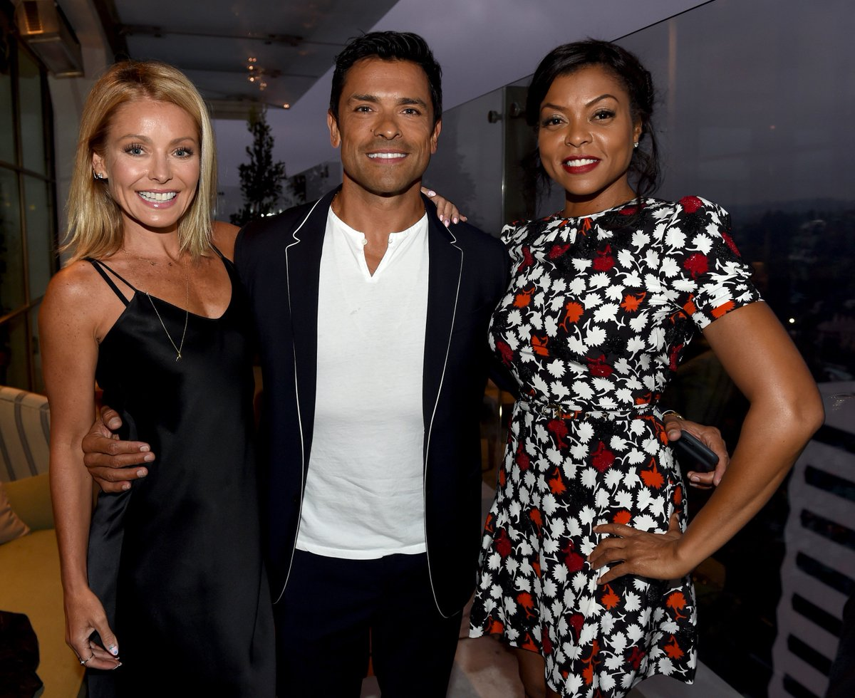 #TBT A night out with @KellyRipa and @EmpireFOX star @TherealTaraji https://t.co/yYr17wwMSg