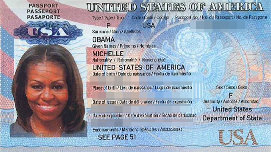 Copy Michelle Of Passport Real Is Https On Mashable But Obama's