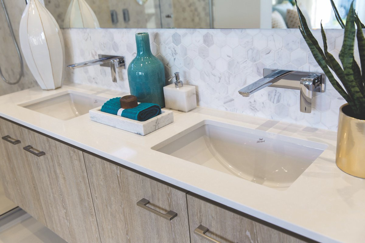 Cosentino Aust Nz On Twitter Silestone Yukon Was Selected For The Ensuite Bathroom In 20mm With An Aris Edge When Can We Move In Worldofstyle Silestone Https T Co 9sspbexdtw
