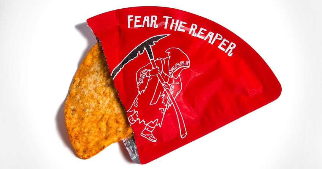 The world's spiciest chip comes just one per package, looks terrifying https://t.co/dlf3Ytgw2t https://t.co/BlZX4RGgId