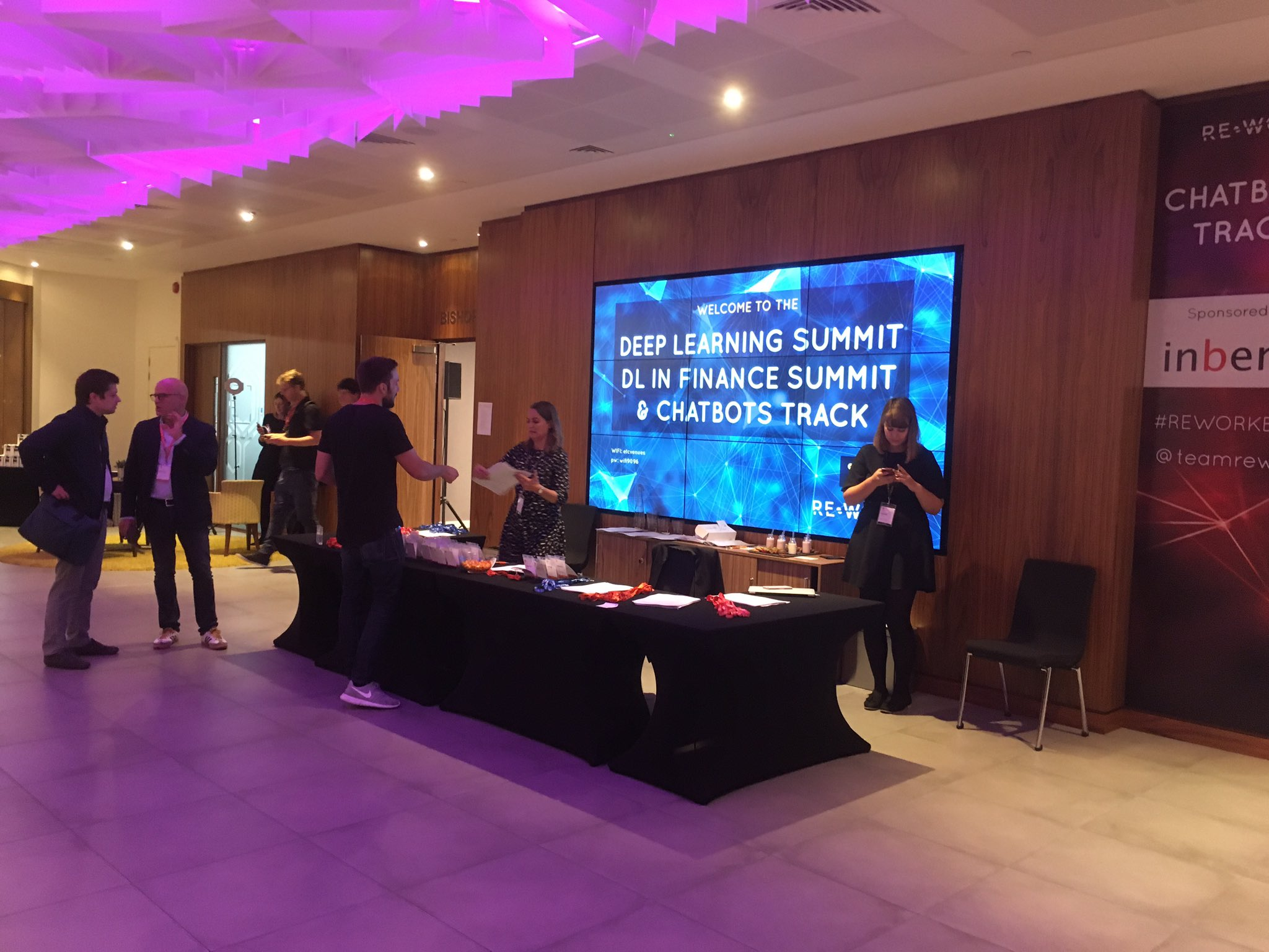 Impressive display of expertise and exciting talks at the deep learning summit #reworkDL in London. https://t.co/WJomW6HSzn