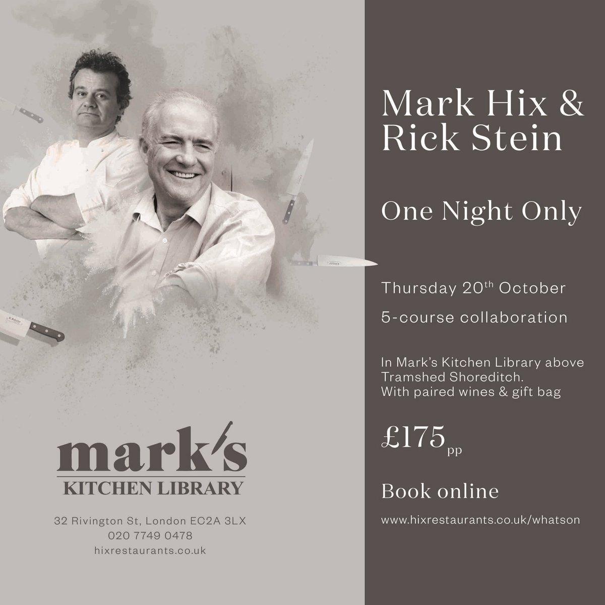 Mark Hix on Twitter: \