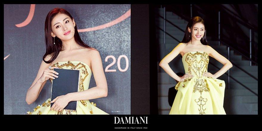 Damiani On Twitter Beautiful Chinese Actress Zhang Tian Ai