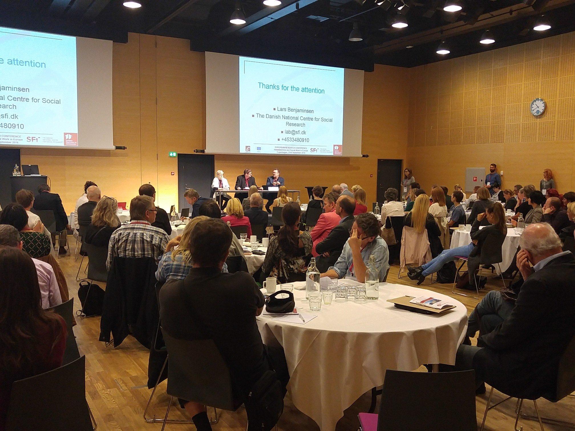 Q&A session with keynote speakers Deborah Padgett & Lars Benjaminsen at #eoh2016 https://t.co/wLKVi2k4Cd