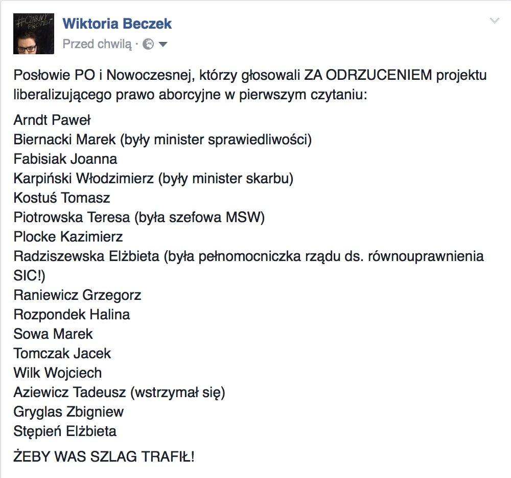 c9a1c278c4 Lista wstydu opozycji - emama - Forum dyskusyjne