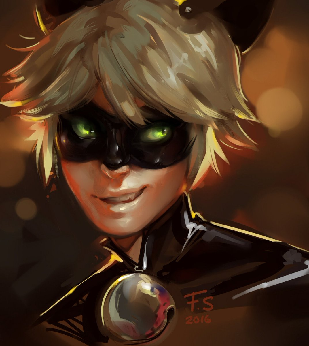 M W L On Twitter Chat Noir As Usual Is Excellent