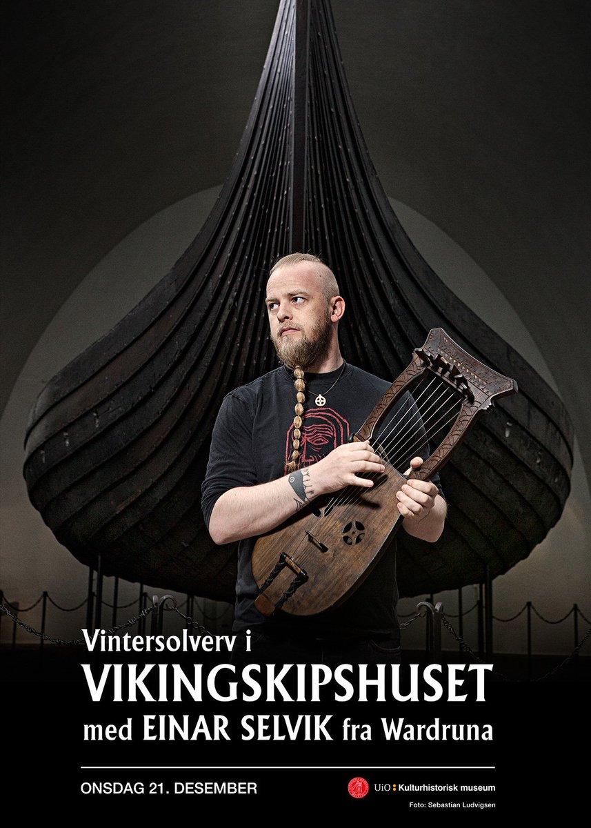 Einar will perform an acoustic concert in the Viking Ship Museum in Oslo, Dec 21. Tickets: http://www.ticketmaster.no/event/vintersolverv-med-einar-selvik-billetter/511533…