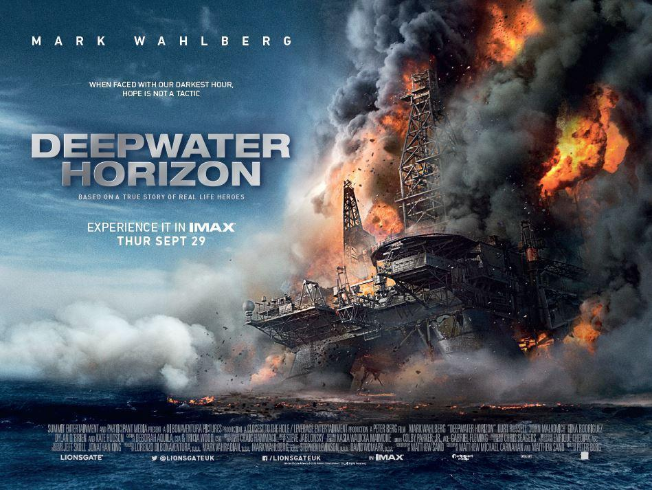 Deepwater Horizon, film al cinema