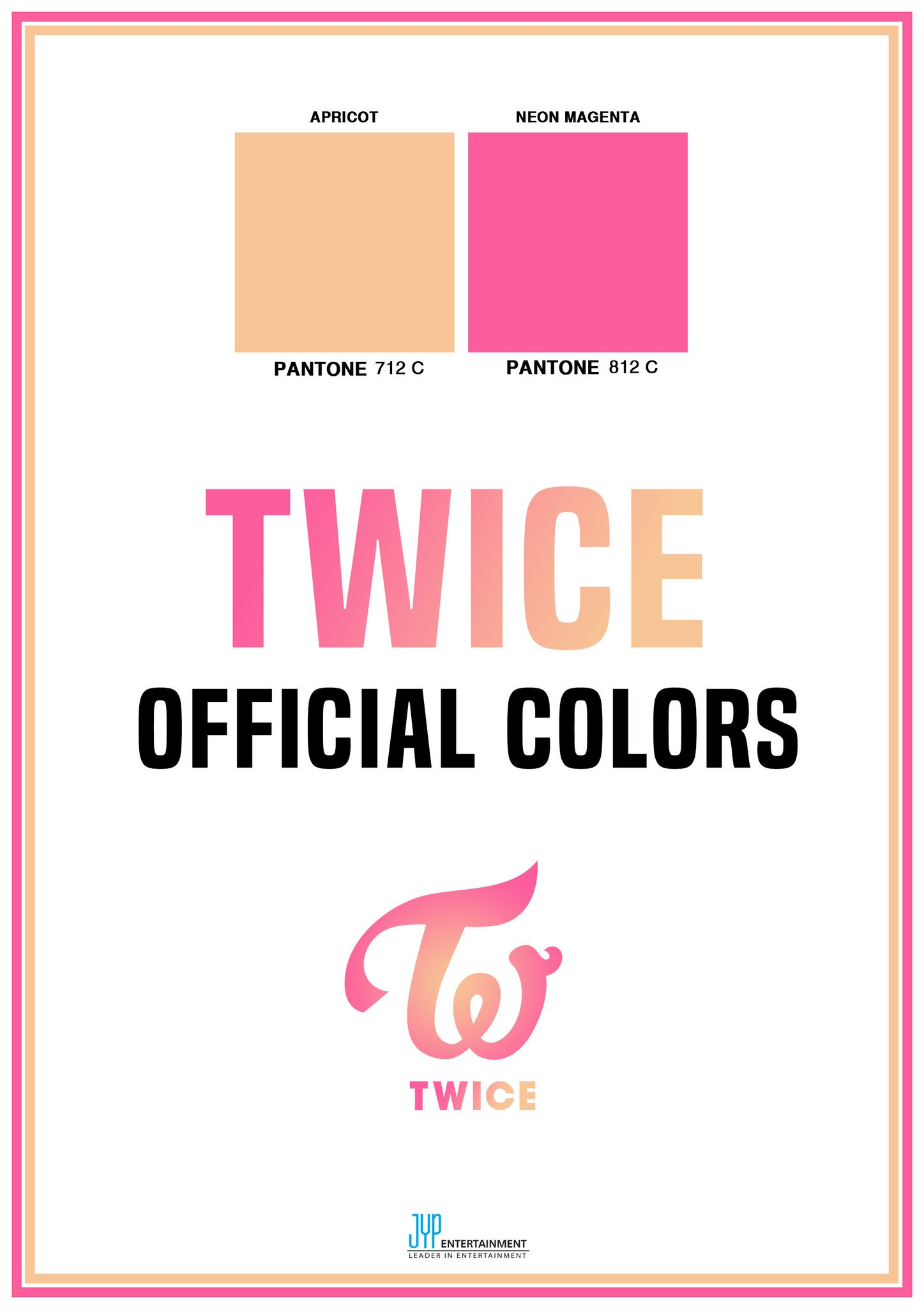 TWICE OFFICIAL COLORS