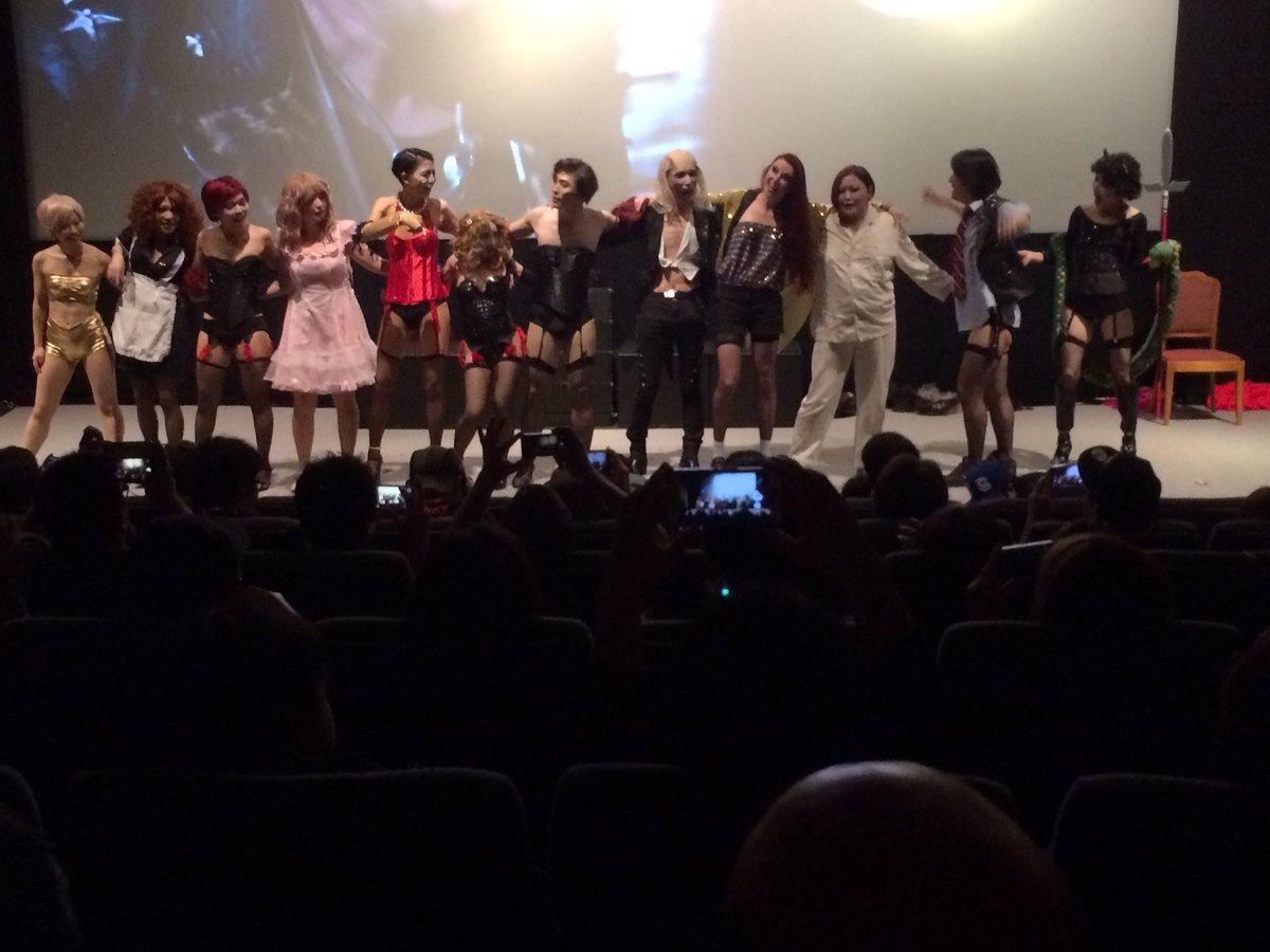 カナザワ映画祭「ロッキー・ホラー・ショー」LIP'Sさんらが素晴らしかった、髙橋ヨシキさんの盛り上げ、ほんま楽しかった! #カナザワ映画祭 https://t.co/QUYGfILqjH