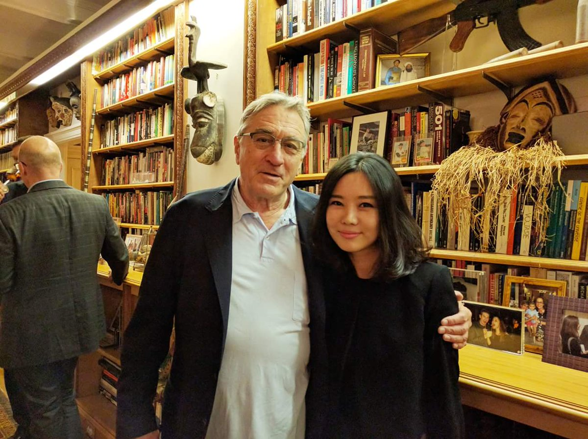 Hyeonseo Lee On Twitter Robertdeniro One Of My Favorite Actors