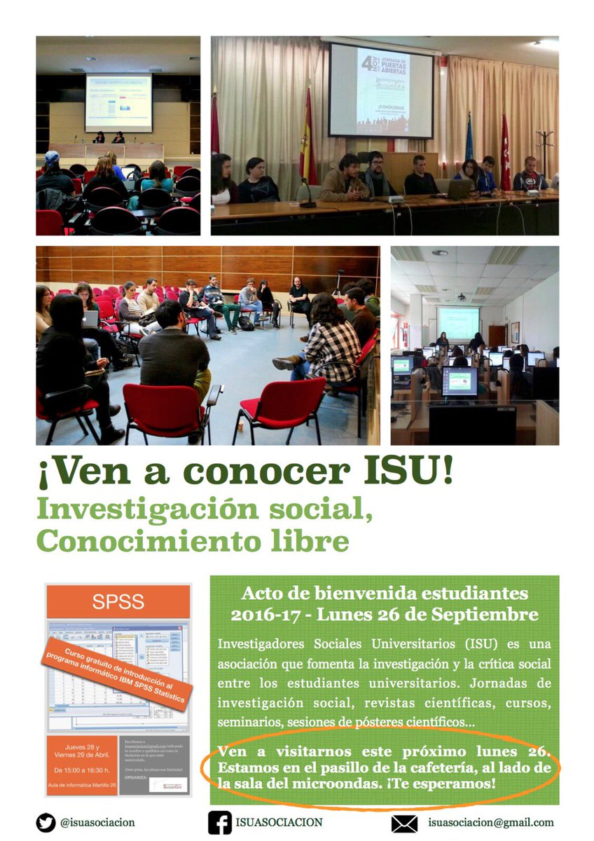 ISU (@isuasociacion)   Twitter