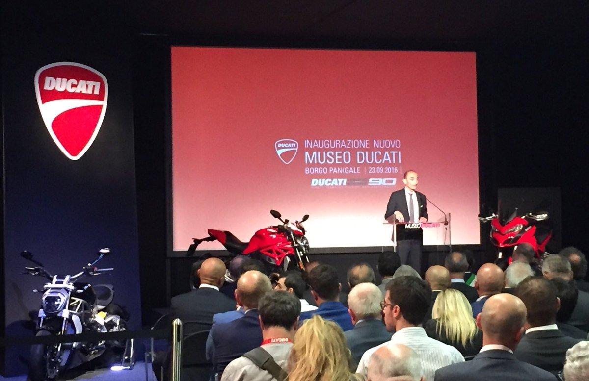 La #digitalizzazione avrà un grande impatto nel futuro di @DucatiMotor #Domenicali #Renzi https://t.co/noCU6rH1dN