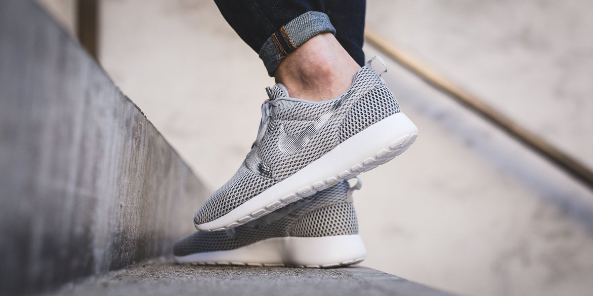 dae0466ce4e NEW IN! Nike Roshe One Hyp BR GPX - Wolf Grey White-Dark Grey-Pure Platinum  SHOP HERE  http   bit.ly 2cBvdJk pic.twitter.com yKWImV74NB