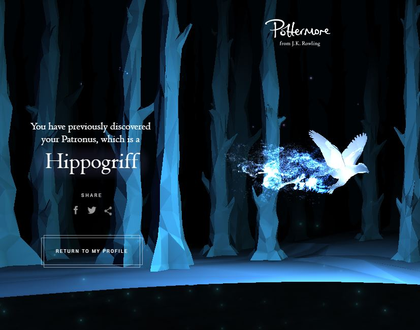 Image result for hippogriff patronus