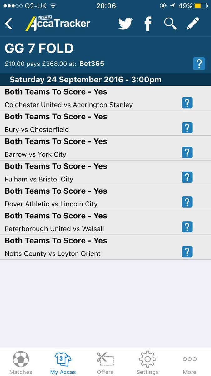 7 fold meaning betting lines bradford town fc fa vase betting