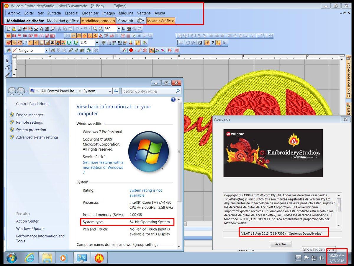 READ DESCRIPTION Service For Install Wilcom E2 Studio