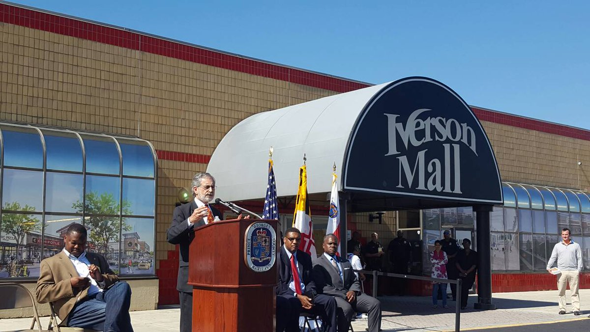 Prince George's Co. will grant $4M from its EDI fund for redevelopment of Iverson Mall. https://t.co/6n7TFBJpCu
