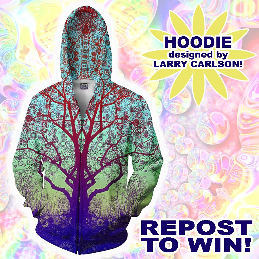 WIN THIS LARRY CARLSON HOODIE!!  RETWEET AND FOLLOW TO WIN!! {winner announced Tues} https://t.co/1ab7OqlkOq https://t.co/HtIe0P330Z