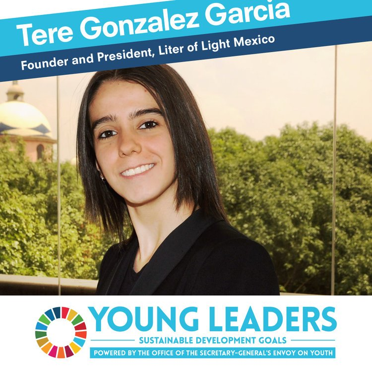 Did you know that a Mexican girl is among @UN's #UNYoungLeaders? She's @globaltere, cofounder of @LiterMx, congrats! https://t.co/5wVXZpsBRl