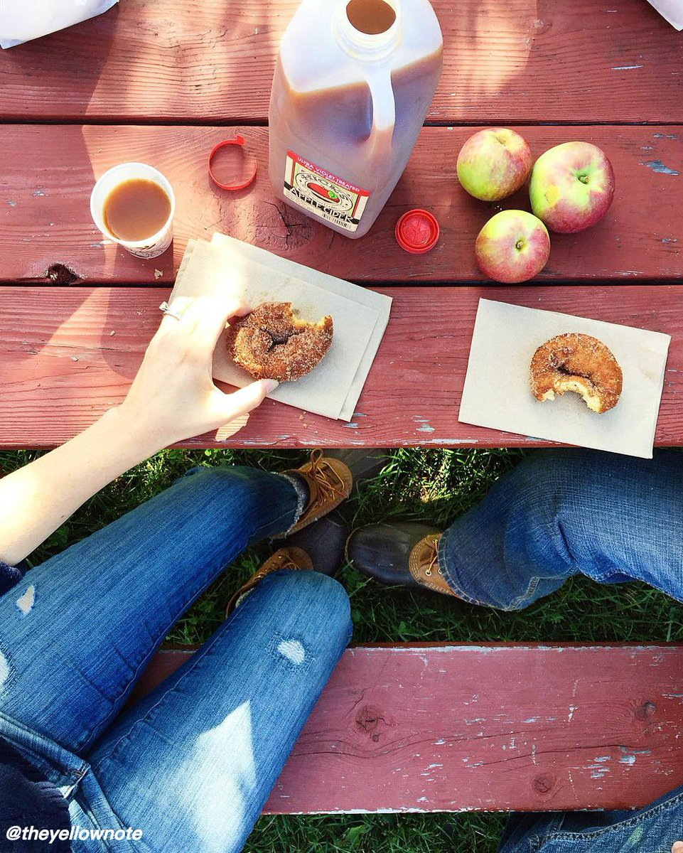 What's better: the apples, the cider, or the donuts? @tasteny
