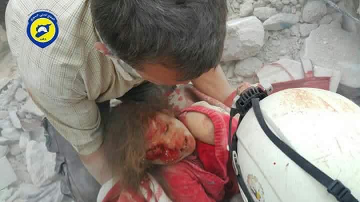 Российская авиация возобновила мощные бомбардировки восточного Алеппо, - Reuters - Цензор.НЕТ 5401