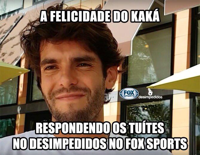 Jaja @desimpedidos na @FoxSports_br !! �� https://t.co/Y6qN79OIGU
