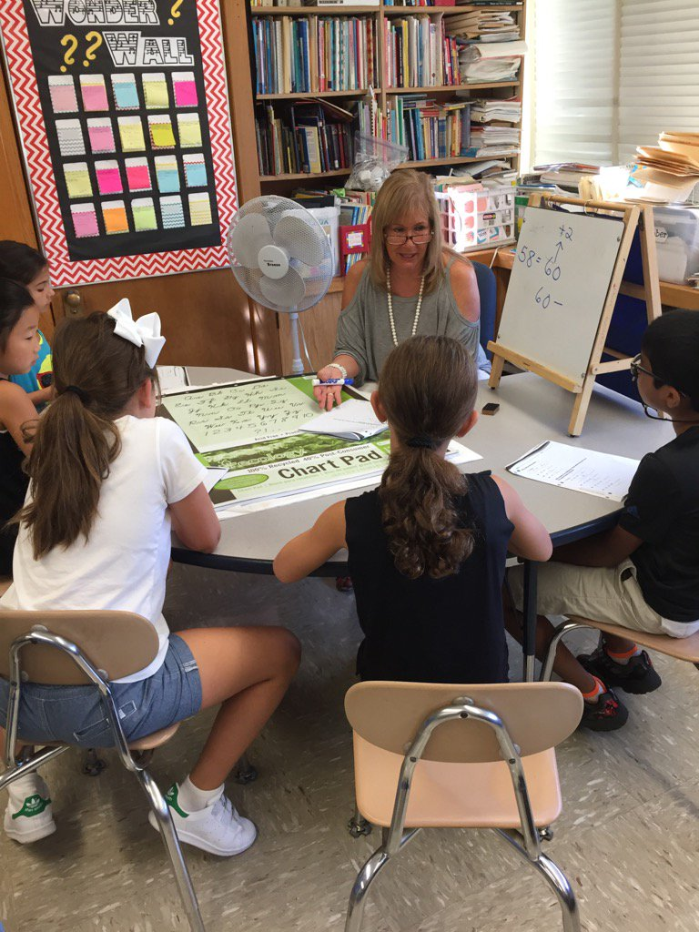 Small group work with Mrs. H. #seamanstrength https://t.co/2z1lRj8qSI