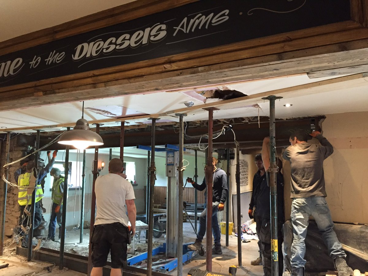 The Dressers Arms On Twitter 5 Days In Refurb Dressersarms