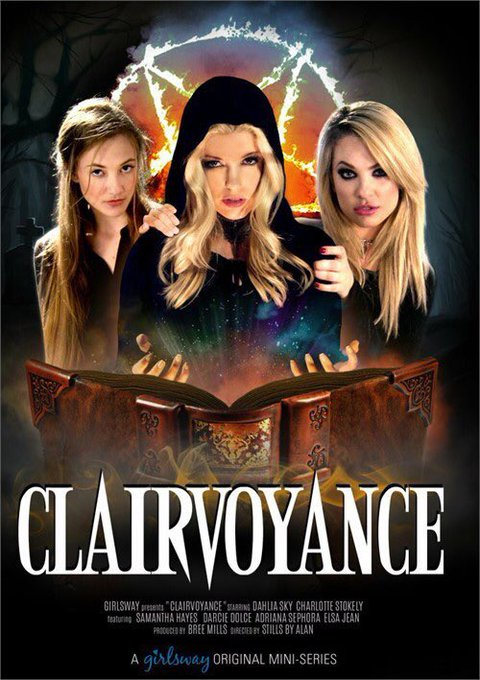 Just in time for spooky season! #clairvoyance #girlsway #charlottestokely #xxx https://t.co/sYV7O7SI