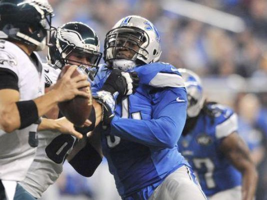 @Lions will be without DE Ziggy Ansah vs. @packers