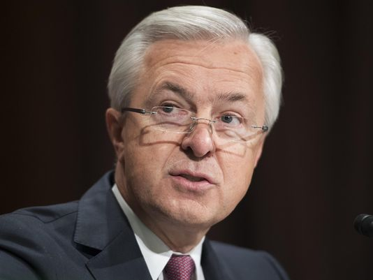 @WellsFargo CEO quits post on Federal Reserve council