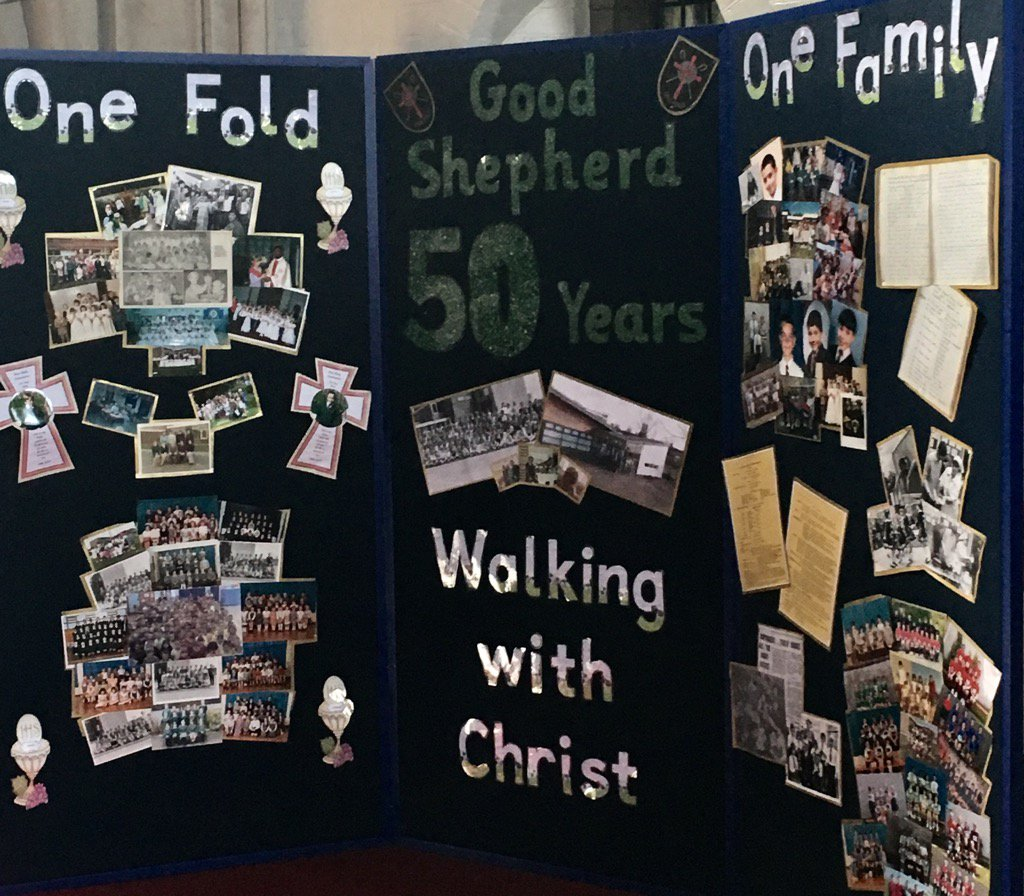 Join us on Sunday at 3pm for a special celebration of 50 years of Good Shepherd at St Elizabeths church