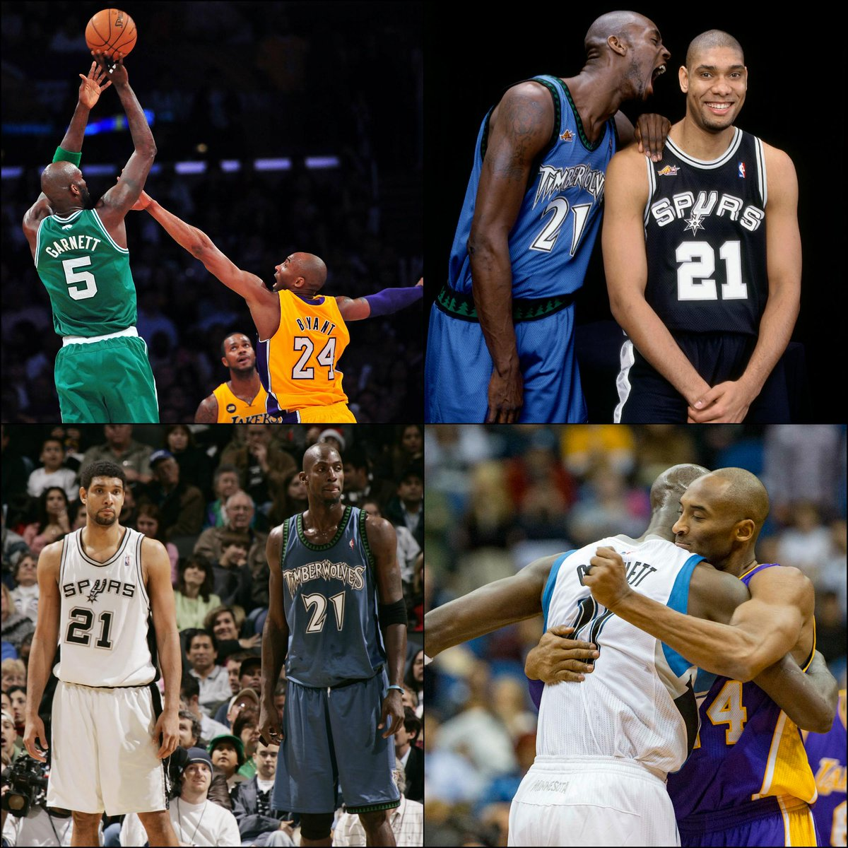 Nba Tv On Twitter Kobe Bryant Tim Duncan And Now Kevin