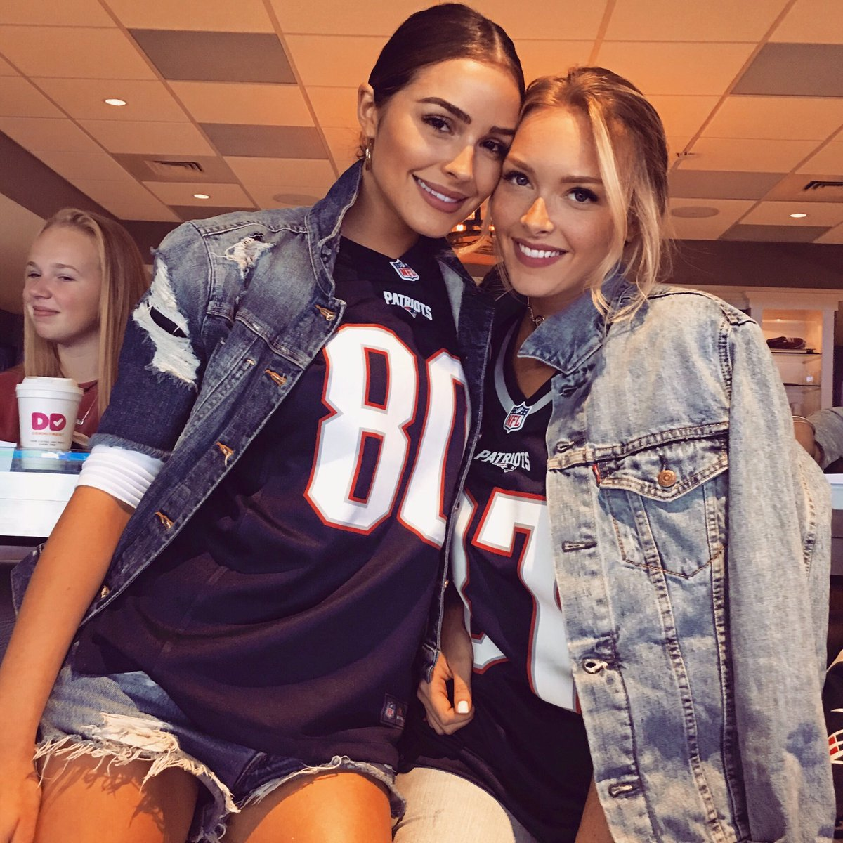 "Rob Gronkowski Dating Former Patriots Cheerleader Camille: Camille Kostek On Twitter: ""About Last Night 🏈👯 #NEvsHOU…"