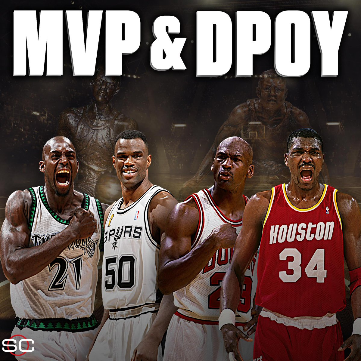 後無來者?NBA歷史上集MVP和DPOY兩大榮譽於一身的4位大神!