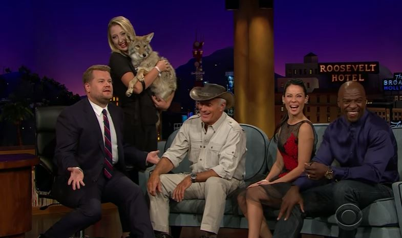 Jack Hanna on the Late Late Show with James Corden 10TV