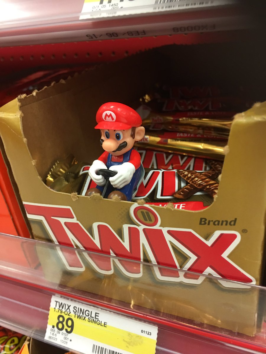 one pun man on twitter pulling off those sick twix in mario