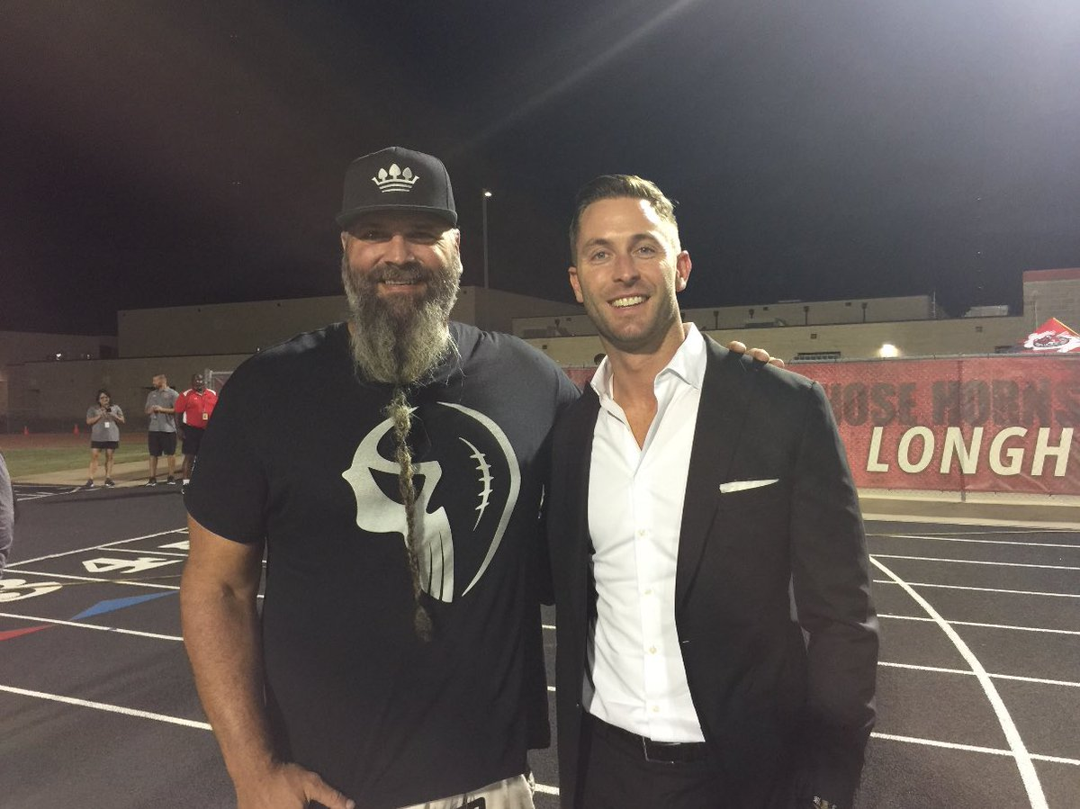 texas hs football on our ceo brian demarco hanging out texas hs football on our ceo brian demarco hanging out ttukingsbury at chlonghorns vs desotofb uafootball undeniableweek txhsfb