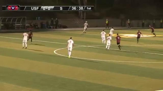 MSOC   GOAL DONS!!! RUIZ claims his first goal as a DON!!!! USF 1 - Stanford 0 #OneTeam https://t.co/NqyzGk4xBd