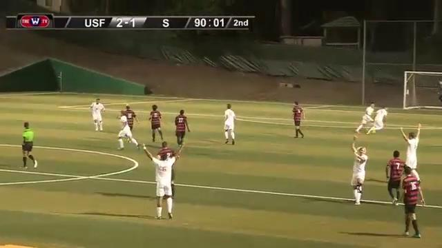 MSOC | USF WINS 2-1 AGAINST STANFORD! This is the first win against Stanford since 2007!!! #DONtastic #OneTeam https://t.co/OKvnso2qYd