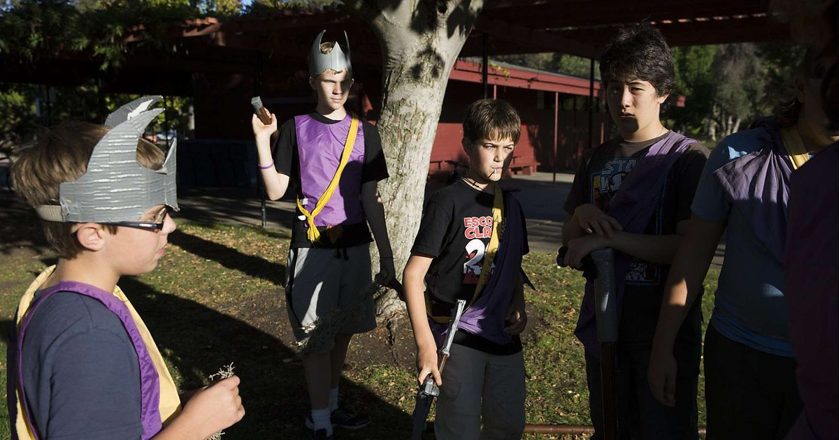 Using LARP to help children learn about life. TheRegulars via @erinbrethauer