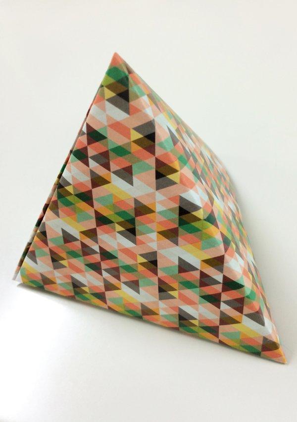 テトラ パック 折り紙