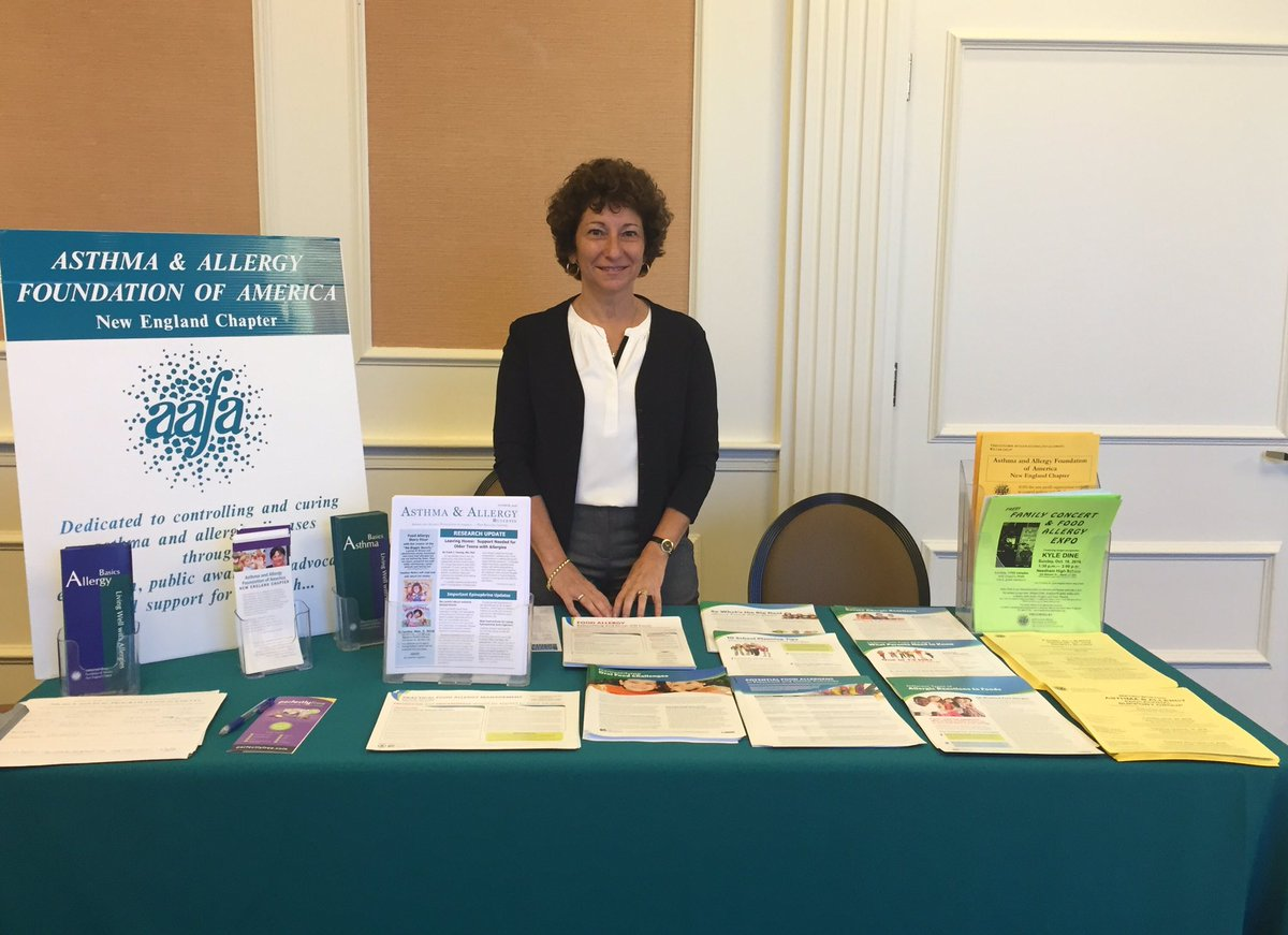 Meeting some great people at Boston Children Hospital Food Allergy Conference! #foodallergies